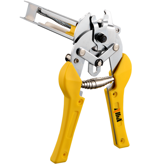 Semi-Automatic Manual Hog Ring Plier w/ Swivel Magazine - CMPT SIMES MOD121