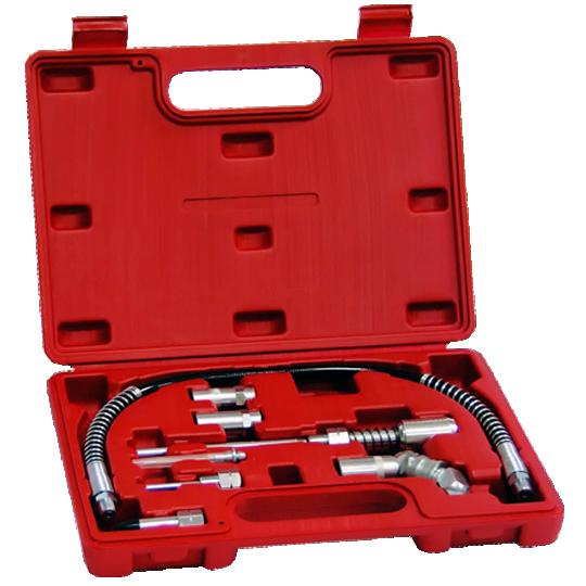 8PCS Grease Gun Adapter Set