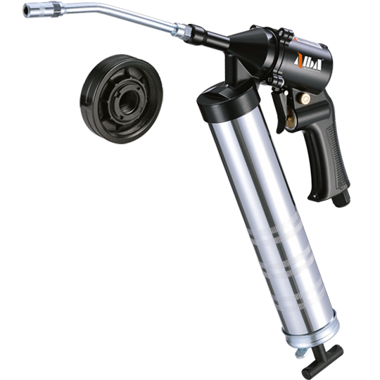 2-in-1 Single & Continuous Shot Air Grease Gun w/ LUBE1 System
