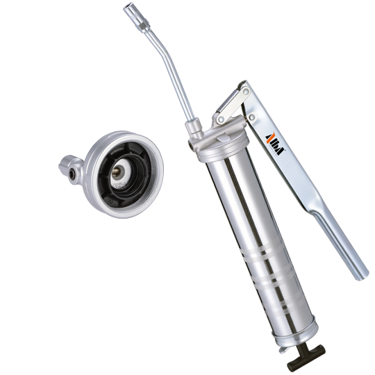 Heavy Duty Lever Grease Gun w/ LUBE1 System